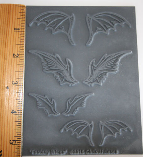Fantasy Wings go batty texture stamps by Christi Friesen newest stamps