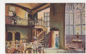 Interior-Strangers-Hall-Norwich-Tuck-6687-Postcard-B081
