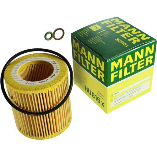 MANN-FILTER PAKET für BMW 7er F01 F02 F03 F04 740i 5er Gran Turismo F07 535i