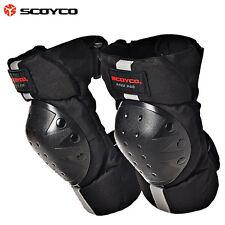 SCOYCO Knieschützer Knieprotektoren Schwarz Motocross Enduro MTB BMX Motorrad
