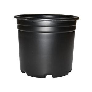 1 2 3 5 gal pro cal high quality black plastic nursery container pot gallon ebay - Gallon bucket garden container ...