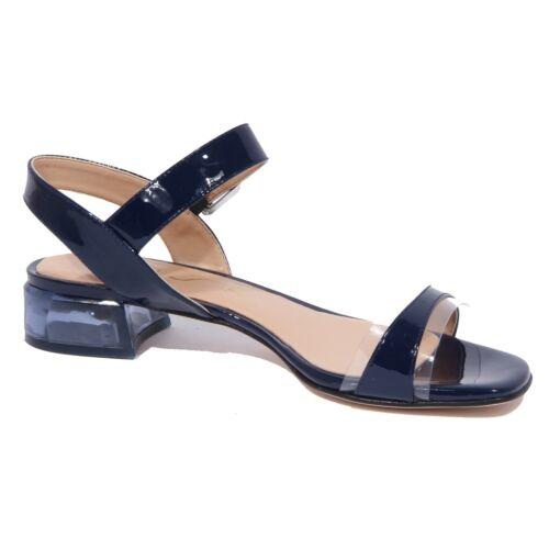 Details about  /2050J sandalo donna blue UNISA DONOVA patent//plexi shoe sandal woman