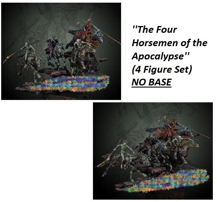 1 32 Resin Figures Model ''The Four Horsemen of the Apocalypse''  (4 Figure Set)