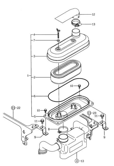 Takeuchi Fuel Filter