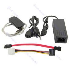 New Adapter Converter HD HDD Hard Drive Cable USB 2.0 to IDE SATA S-ATA 2.5 3.5
