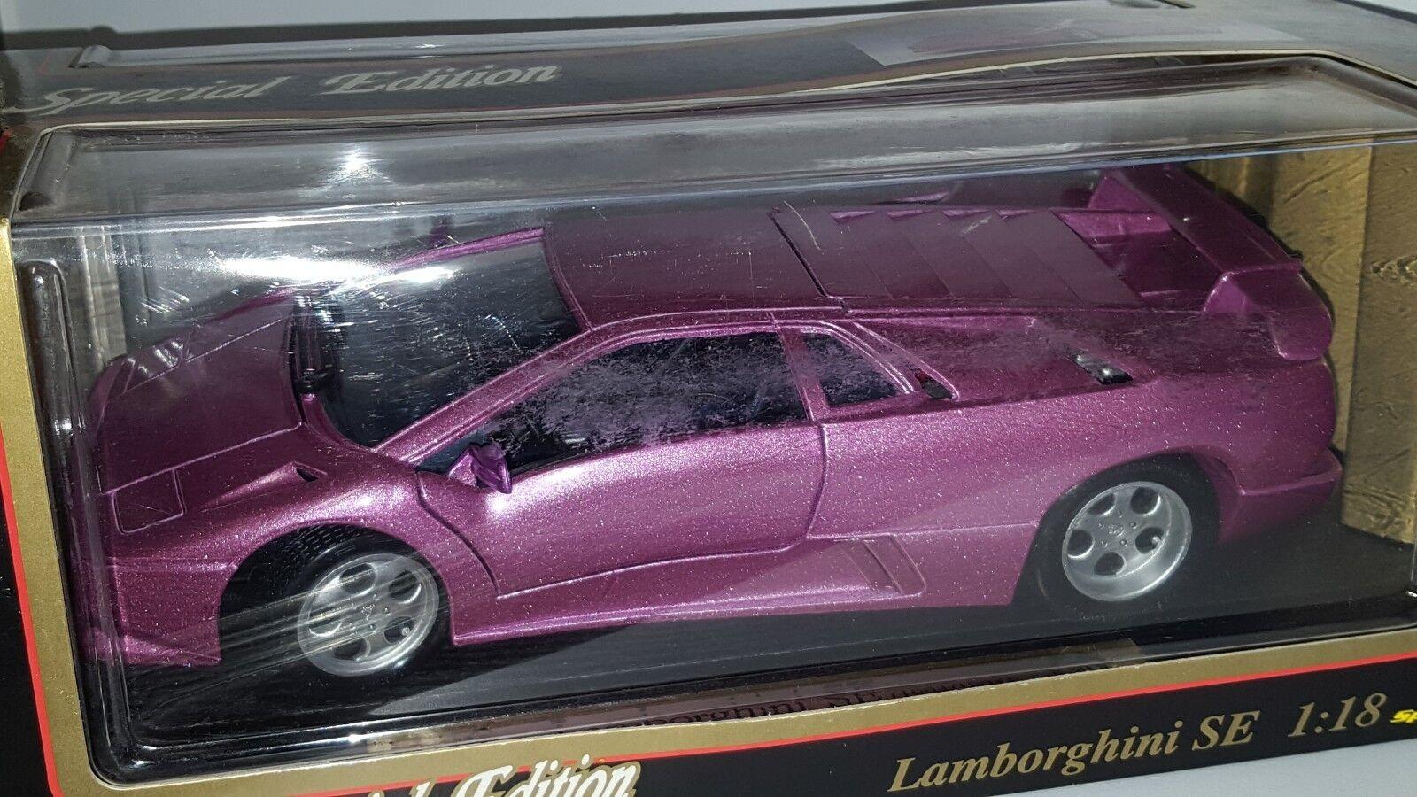 1 18 Maisto Special Edition LAMBORGHINI SE Violet BD