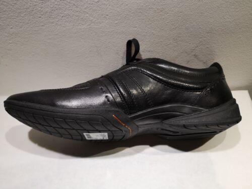 44,5 .45 Clarks Schnürsenkel Leder Schwarz Neu Wert 135E Schuhgrößen