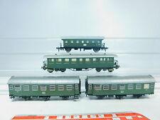 AU796-1# 4x Fleischmann H0 aficionados-vagón de pasajeros: 9514+87935/B3yge DB