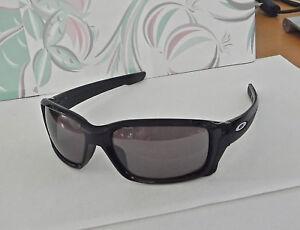 aef8c23093 Image is loading Oakley-Straightlink-Sunglasses-Nice-Black-Frames-Polarized- Prizm-