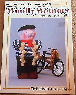 COMPLETE SET OF 25 WOOLLY WOTNOTS KNITTING PATTERNS ON CD