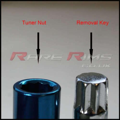 Petrol Tuner Wheel Nuts x 20 12x1.25 Fits Nissan Micra Sunny 180sx