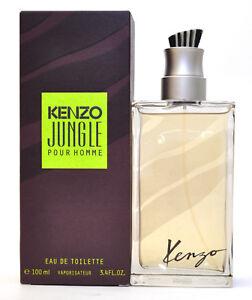 992f0a3b6 KENZO JUNGLE Pour Homme by Kenzo Men 3.4oz/100ml Eau de Toilette ...