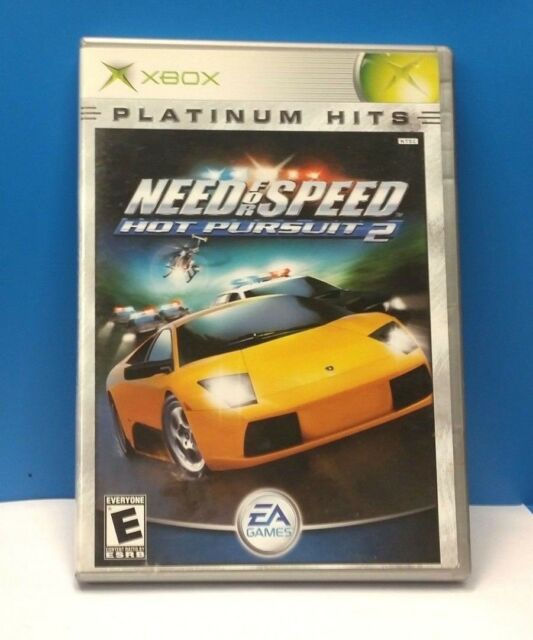 Need For Speed Hot Pursuit 2 Platinum Hits Microsoft Xbox 2003 For Sale Online Ebay
