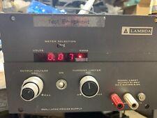 Lambda Lq531 Regulated Power Supply 0 20v