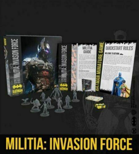 Batman DC mini - Knights Model milicia invasor Batman Box Box Box 762