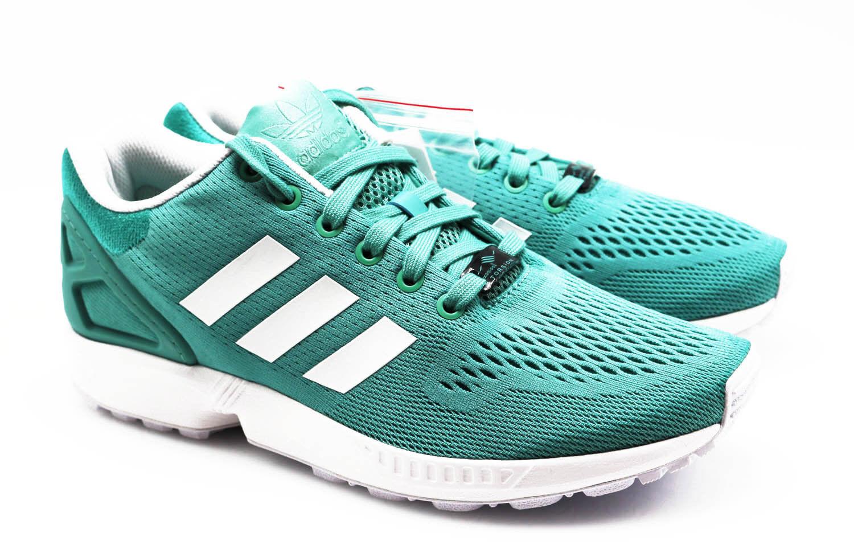 ADIDAS ZX FLUX Herren Men´s Sneaker Zapatos türkis 45 B34515 Gr. 44 - 45 türkis NEU & OVP ace537