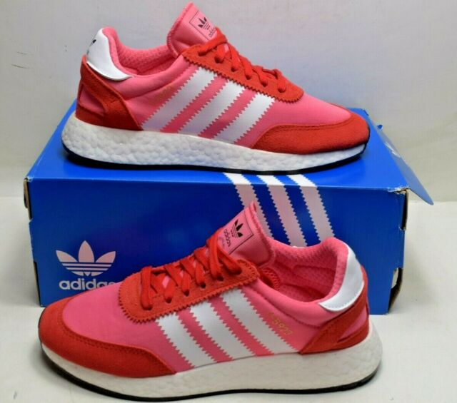 0182f4bf0a adidas Originals Women's I-5923 Running Shoe Pink White Red Cq2527 Size 9 M  US
