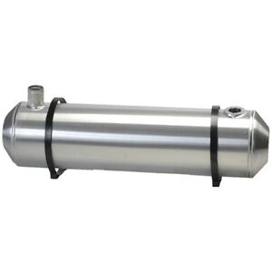10x33 End Fill Spun Aluminum Gas Tank With Remote Filler Neck And