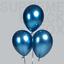 50-Blue-Metallic-Balloons-Chrome-Shiny-Latex-12-034-Thicken-For-Wedding-Party-Baby thumbnail 2