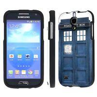 Verizon Samsung Galaxy S4 Mini Total Armor Art Cover Case - Blue Phone Box