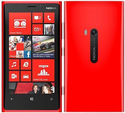 Nokia Lumia 920 US 4G LTE Windows Smartphone (AT&T - Unlocked) Red - 32GB (Used)