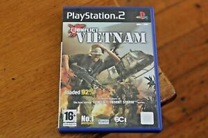 Conflict-Vietnam-PAL-Sony-Playstation-2-PS2-Game-Complete-with-Manual