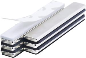 6 Stück Neodym Magnete Super Stark Kräftig Neodym Viereckig Ziegel Magnete-60