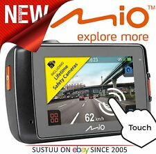 "NUOVO Mio MiVue 638 Touch Full 1080p HD 2.7"" GPS registratore Incidente Dashcam Telecamera"