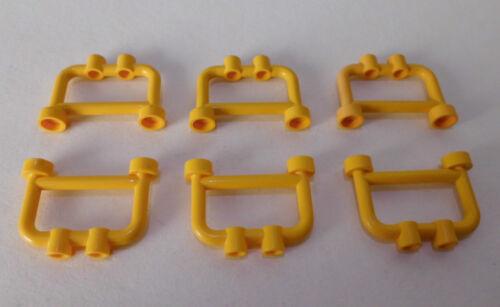 4083 in gelb aus 7894 7939 7047 7945 4645 6 Zäune 1x4x2 Lego