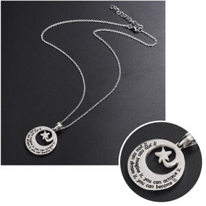 Damen-Edelstahl-Halskette-Kabellaenge-Stern-Buchstaben-Anhaenger-Schmuck-Neu