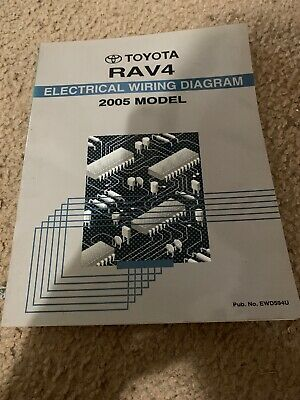 2006 Toyota Rav4 Electrical Wiring Diagram Service Shop Repair Manual Ewd 06 Other Car Truck Manuals Literature Auto Parts And Vehicles