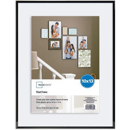 Mainstays 10x13 Black Float Frame | eBay