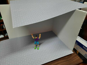 Block-Photo-Sheets-1-24-Scale-Action-Figure-Garage-Diorama-Dollhouse-Accessories