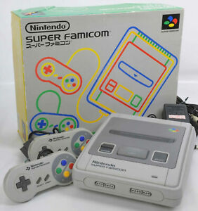 Nintendo-Super-Famicom-Console-System-Boxed-Tested-SHVC-001-Ref-S23566098