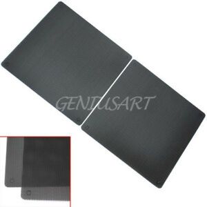 2-Pcs-Plastic-Dust-Protector-140x140mm-PC-Case-Fan-Filter-Computer-Mesh-Black