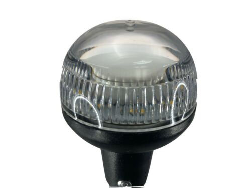 """Pactrade Marine Boat LED All Round Anchor Plug-in Light Pole 24/"""" Collar USCG SS"""