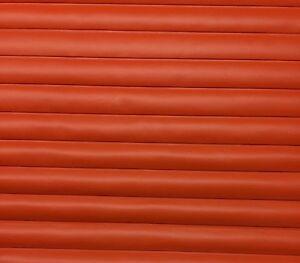 Vinyl Supreme Orange Marine Pleated Vinyl Auto Boat Upholstery