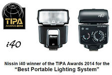 Nissin i40 Compact Flash for Fujifilm Cameras *USA Warranty*