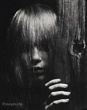 1964 Vintage 16x20 MIA FARROW Actress Model Activist Movie Film PHILIPPE HALSMAN
