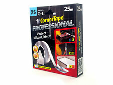 Corner Tape 25m perfect silicone sealant for bathroom Kitchen and shower XS2.5mm