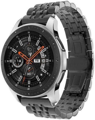 22mm Edelstahl Metall Armband Für Samsung //Huawei Watch//Huami amazfit//Fossil DE