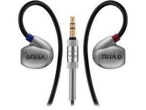RHA T20 Revolutionary Dualcoil Stainless Steel In-Ear Headphones, 202020