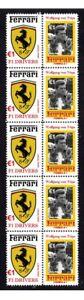 WOLFGANG-VON-TRIPS-FERRARI-F1-DRIVER-STRIP-10MINT-STAMP