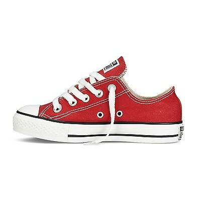 CONVERSE CT ALL STAR OX - VARIOUS COLOURS -YOUTH SIZES UK 11 -UK 2 - BRAND NEW