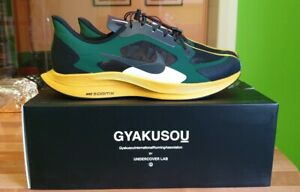 more photos 4b13d c7f9d Details about Nike Zoom Pegasus 35 Turbo x Gyakusou Black/Gold  Dart/Burgundy.Size 10uk/11us