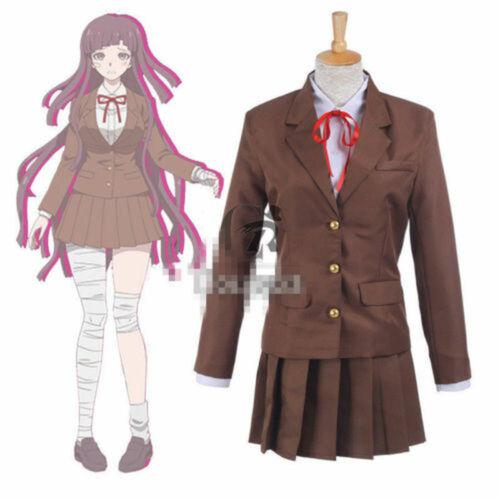 Danganronpa 3 Side Despair Mikan Tsumiki Sonia School Uniform Cosplay Costume