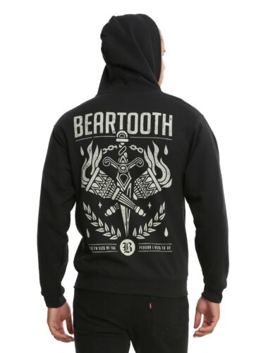 Beartooth Sick Of Me Zip Up Hoodie Ohio Logo New With Tag Licensed /& Official