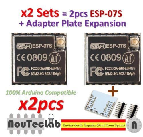 ESP8266 Serial Wifi Modelo autenticidad garantizada ESP-07 Actualizado 2 un ESP-07S