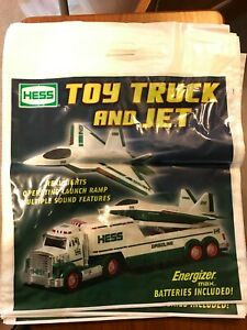 Hess 2010 Toy Truck And Jet Bags 5 New Ebay