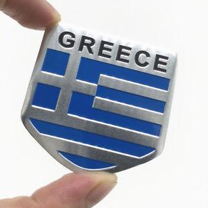 3D-Aluminum-Car-Stickers-GREECE-Flags-Emblem-Badge-Grill-Decal-Bumper-Decoration
